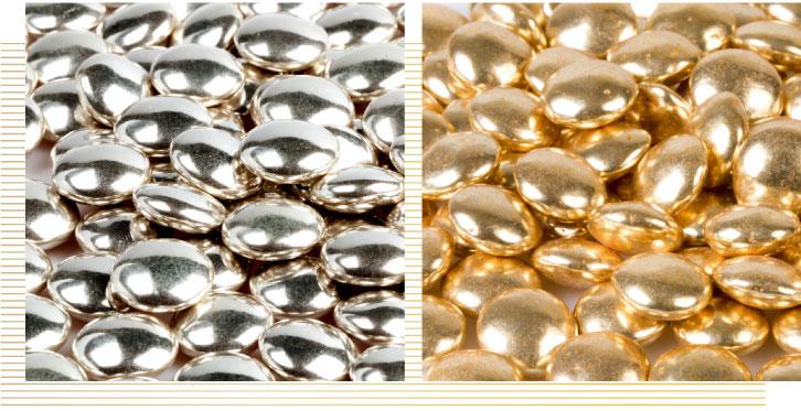 Confetti-lenti-argento-e-oro