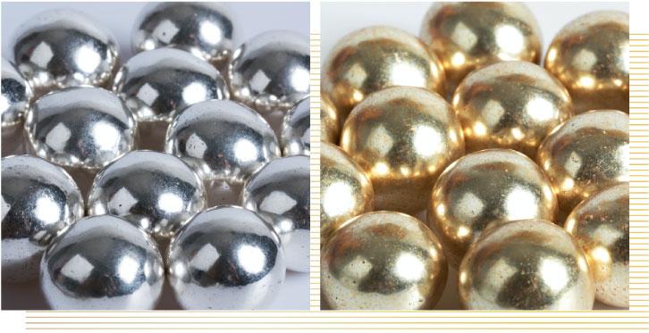 Confetti-nocciola-argento-e-oro