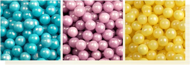 Decorazioni-sferiche-GLOSSY-oro-viola-rosa